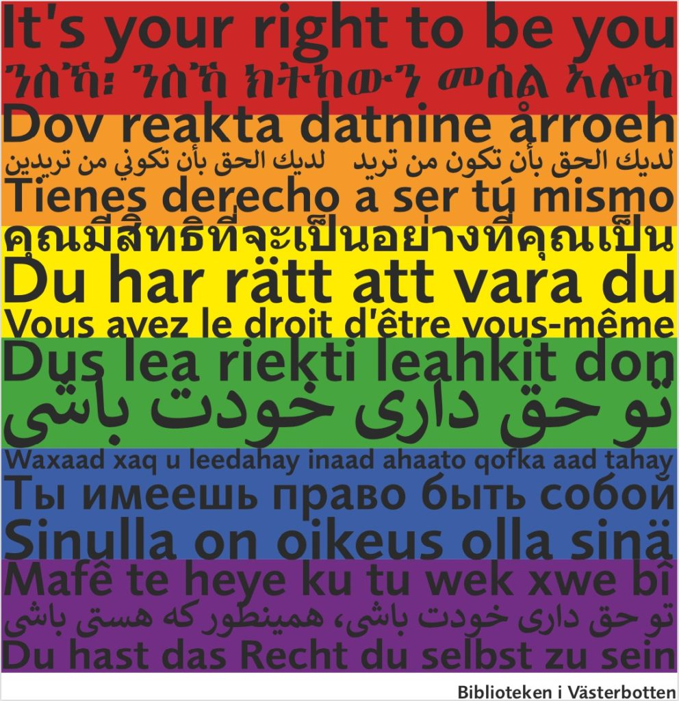 Du har rätt att vara du