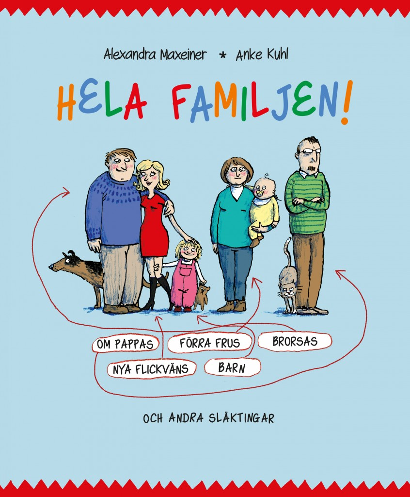 Hela familjen, Alexandra Maxeiner och Arne Kuhl
