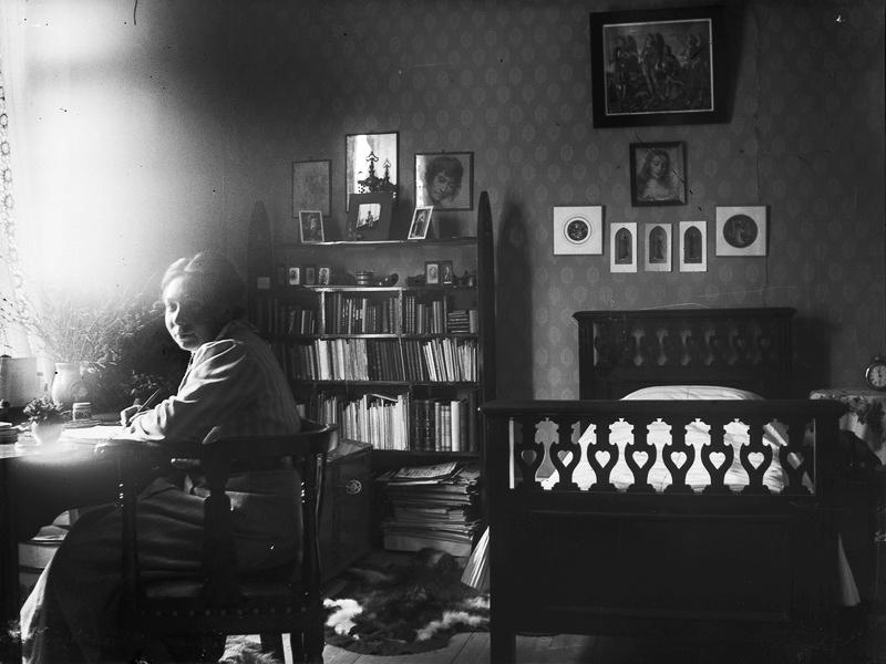 Förbjuden kärlek, Om Maja Beskows lust och längtan, Livet i arkivet
